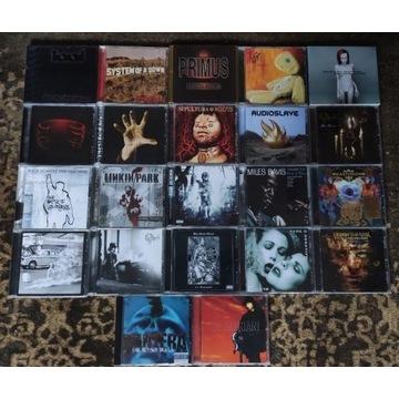 Kolekcja płyt metal/rock/jazz 22 PŁYTY CD