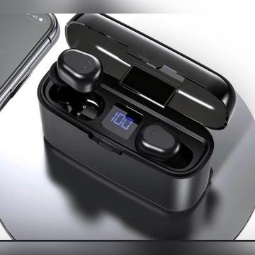 Słuchawki Bezprzewodowe Wodoodporne Bluetooth 5.0