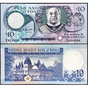 Tonga 10 Paanga 1995 UNC