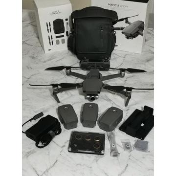 Dron DJI Mavic 2 Zoom, super stan filtry Polar Pro