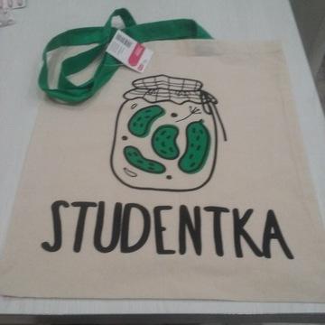 TORBA BAWEŁNIANA Studentka