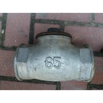 Zawór zwrotny żeliwny DN 65 do wody
