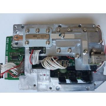 Wzmacniacz mocy nadajnika SAT 14 GHz 2W  GaAs FET