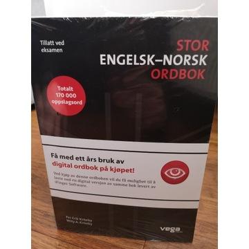 Słownik angielsko-norweski i norwesko-angielski