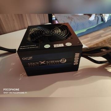 OCZ Stealth X Stream2, 500w, 80Plus