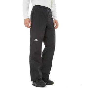 Czarne wodoodporne spodnie The North Face XL ideał