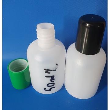 butelka 50 ml HDPE , plastikowa 100 sztuk