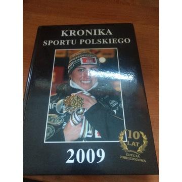 Książka Kronika sportu polskiego 2009