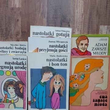 Pakiet książek-poradników dla nastolatek.