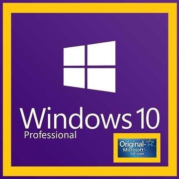 System Windows 10 Pro 32/64 Bit - Nowy Klucz