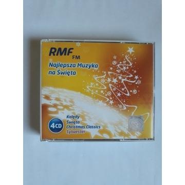 RMF Najlepsza muzyka na święta 4 CD Kolędy Sylwest