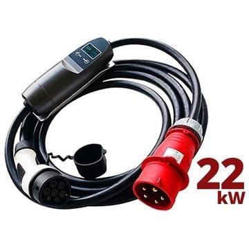Przewód zasilający 5PIN mobilne ładowanie w garażu