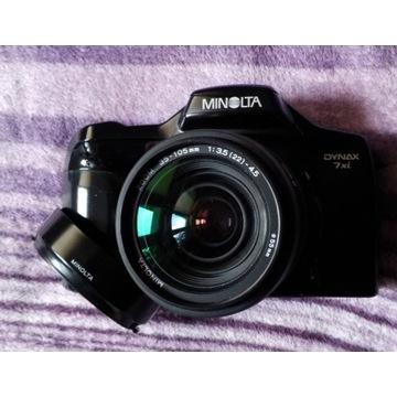 Minolta 7xi MAF 35-105/3.5-4.5 Flesz 3500xi + CPL