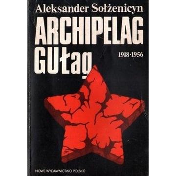 A. Sołżenicyn Archipelag Gułag - tom 1-3