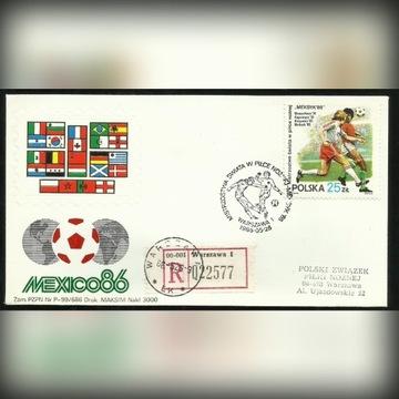Meksyk 1986 Piłka nożna mistrzostwa Świata R-ka