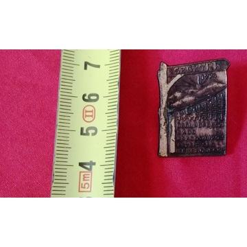 Wpinka, przypinka, pin odznaka 1974. Stara.