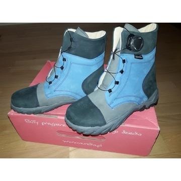 Nowe buty Aurelka r. 34  jesień zima BOA nieprzema