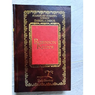 Robinson Crusoe - Daniel Defoe  - Perły literatury