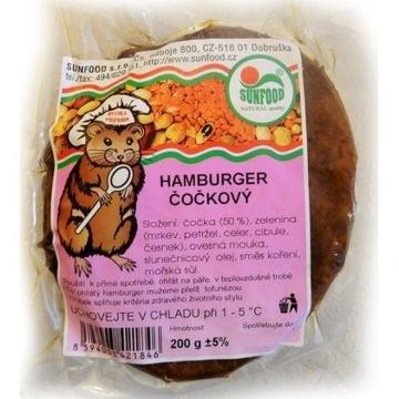 Hamburger z soczewicy 200g - SunFood (00550)L