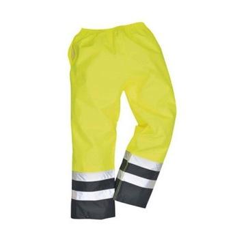 Wodoodporne spodnie robocze Hi Vis    XXL