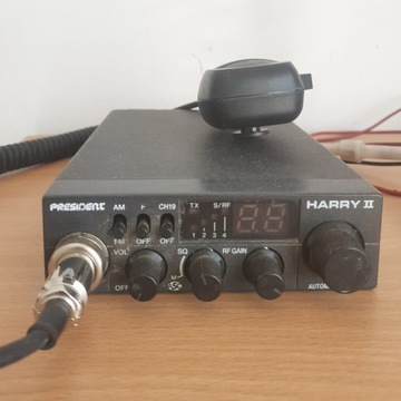 CB radio President Harry II