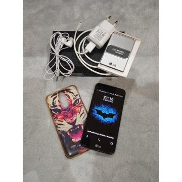 LG K4 Dual SIM ładowarka, słuchawki, pudełko, etui