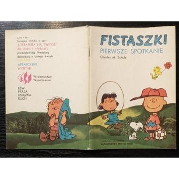 Fistaszki * Pierwsze spotkanie * Charles M. Schulz