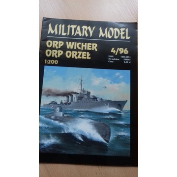 Military Model Haliński ORP Wicher Orzeł