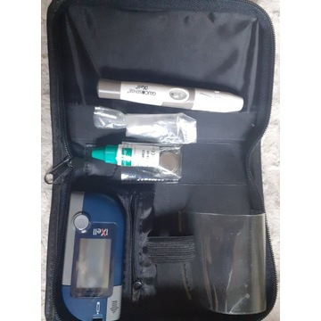 glukometr iXell praktycznie nowy