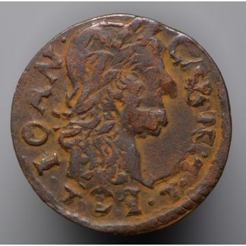 Nr 6 - szeląg koronny 1664