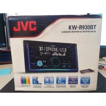 RADIO SAMOCHODOWE JVC KW-R930BT DIN2 BLUETOOTH