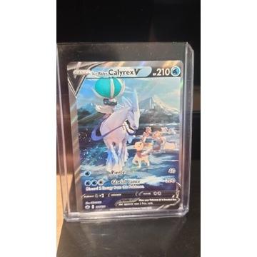 Karta Pokémon Ice Rider Calyrex V (Holofolia)