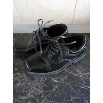 Eleganckie buciki dla chłopca rozmiar 28