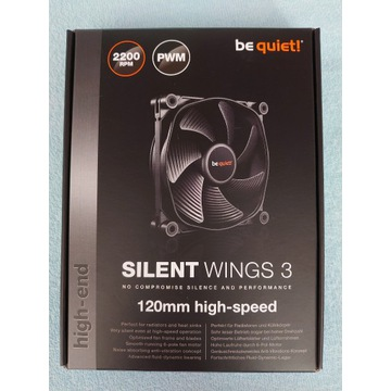 Be Quiet Silent Wings 3 120mm PWM high-speed