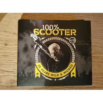 100% Scooter 25 years Wild&Wicked 5CD Limited Edit