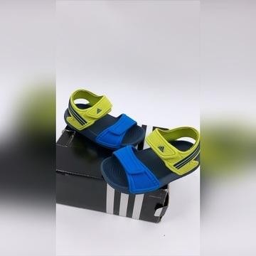 Adidas sandały na dziecka 21 jak nowe na rzepy