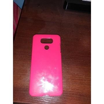 Różowe etui LG G6