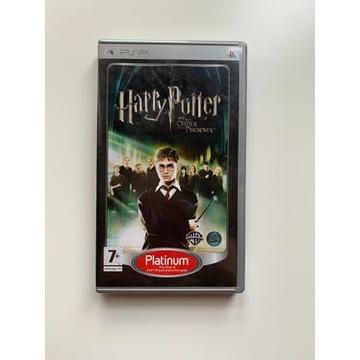 Harry Potter Zakon Feniksa Gra PSP
