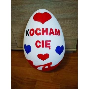 Jajko otwierane 20 cm walentynki/ rocznice