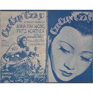 1935 ROK PROGRAM FILMOWY CZU CZIN CZAU