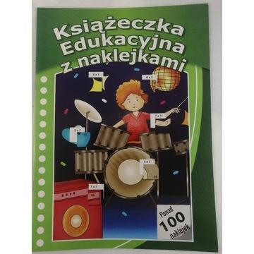 Książeczka Edukacyjna z naklejkami