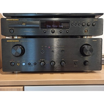 Marantz:Integrated Amplifier PM7000 oraz CD CD6000