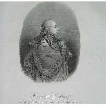 1836 ORYGINAŁ GIEDROYĆ Kresy Litwa Napoleon
