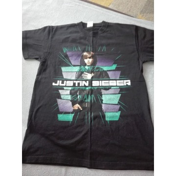 T-shirt Justin Biber rozm. M