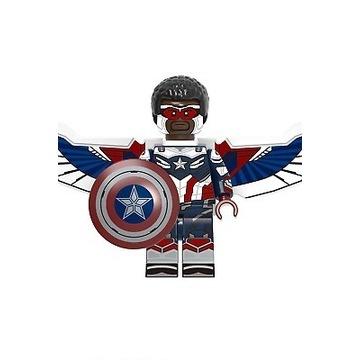 Lego Falcon Kapitan Ameryka Figurka Avengers