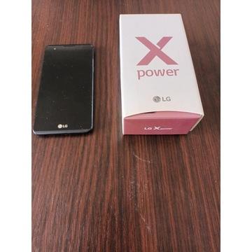 LG X POWER   5,3 cala  czarny w idealnym stanie
