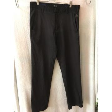 Adidas 32/32 czarne spodnie trekkingowe