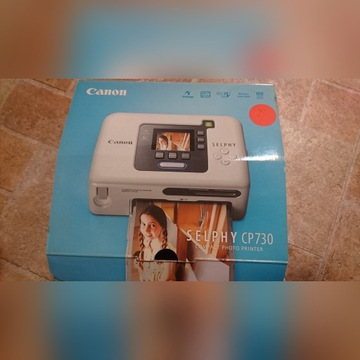 Drukarka fotograficzna Canon Selphy Cp 730