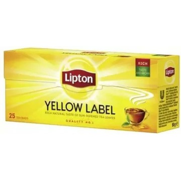 Herbata Lipton Yellow Label 25 torebek 11.op
