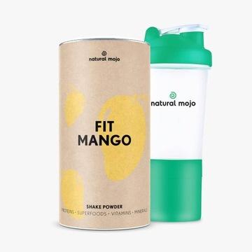 Natural Mojo Promocja!Fit Mango 500g plus szejker